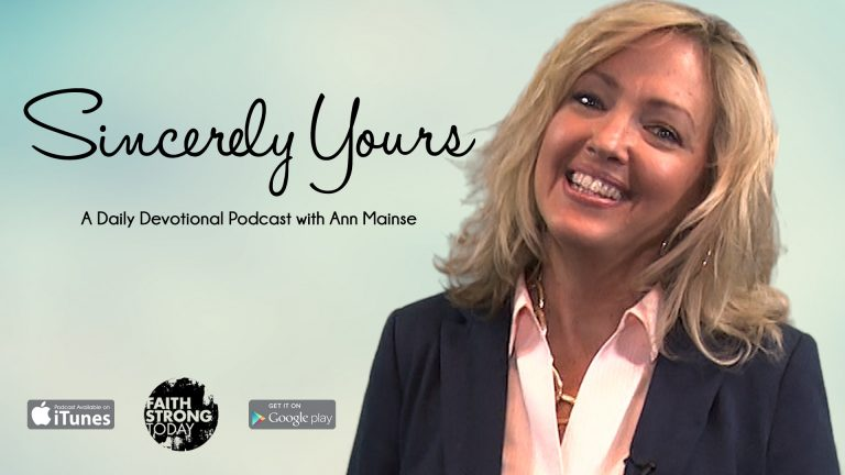 Sincerely Yours with Ann Mainse