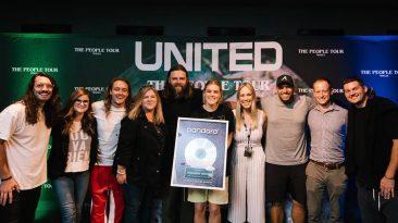Hillsong UNITED Joins Pandora's Billionaires Club